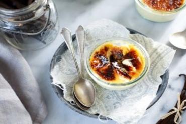 Crème Brûlée by Junior Chef Neeraj – EHH Students