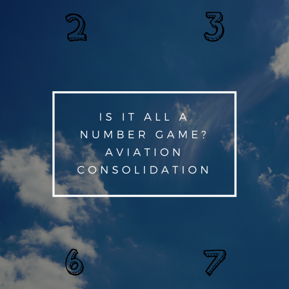 Is it all a number game? – Aircraft Consolidation